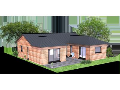 Baty bois construction la maison ossature boisconstruire for Constructeur de maison 01